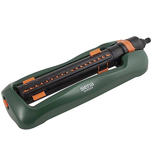 Siena Garden Arroseur oscillant, Plastique, Vert foncé, 45 x 16,5 x 7,5 cm, 5568750 ML, 399885