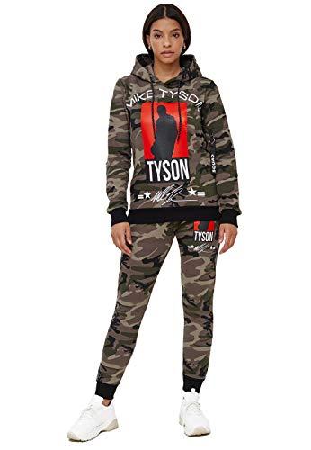 John Kayna Chándal para mujer | ropa de calle | Fitness | Chándal | Pantalones deportivos | Sudadera con capucha | Chándal | Chándal | Pantalones de correr | Modelo 979AC-JK Diseño de camuflaje. M