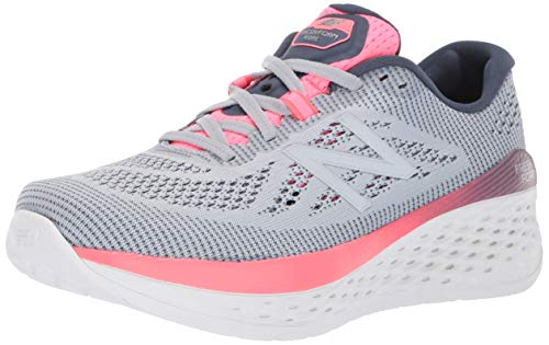 New Balance Women's More V1 Fresh Foam Running Shoe, Light Cyclone/Reflection, 7 B US