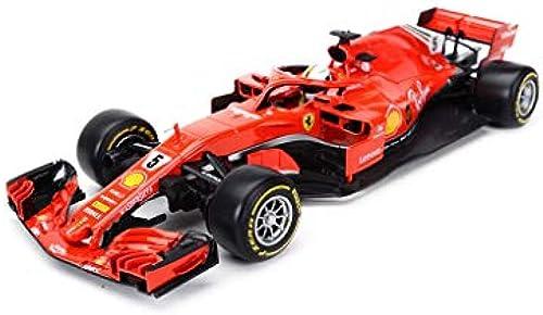 LIUFS-Legierung Auto Formel-Legierungs-Auto-Modell-Meisterschaft Die Geschenk-Dekoration-Geburtstags-Geschenk fürari 1 18 L t (Farbe   rot, Größe   SF71H 5 )