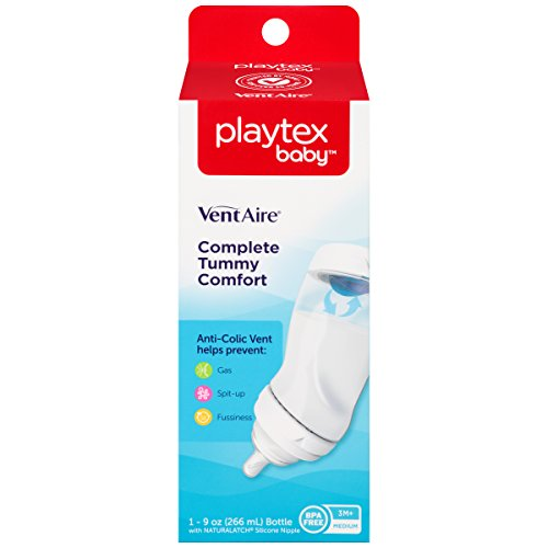 Playtex Mix & Match Nipples & Bottles VentAire Medium by Playtex