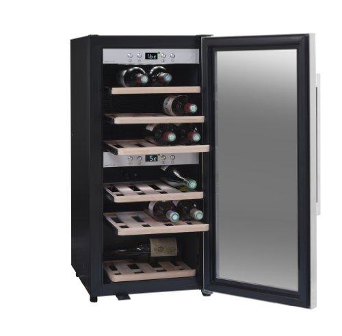 Weinkeller La Sommelière ECS25.2Z von FRIO | 24 Flaschen - Zwei Temperaturzonen | Kleine...