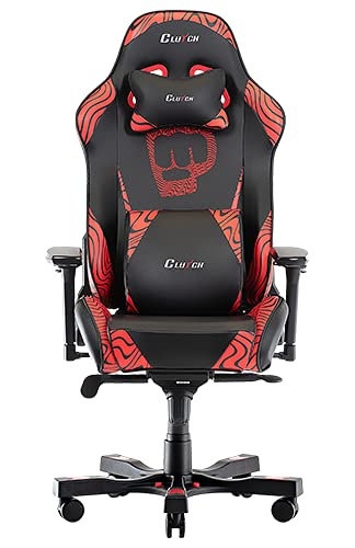 Clutch Chairz Pewdiepie Chair - Ergonomic Gaming Chair, Video Game Chairs, Office Chair, High Chair...