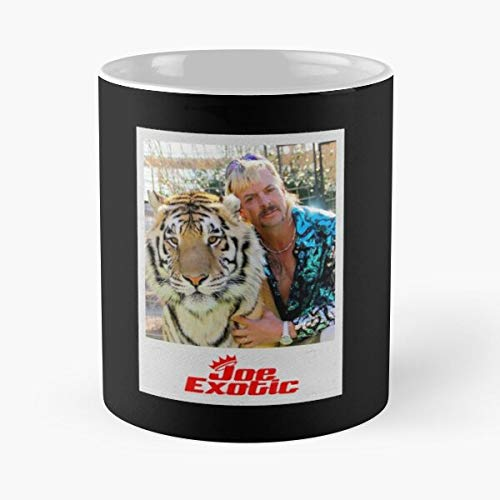 Joe Exotic In Frame Classic Mug - Funny Gift Coffee Tea Cup White 11 Oz The Best Gift For Holidays Situen.