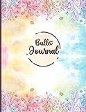 Libreta De Puntos: A4 Cuaderno Dot Grid Para Bullet Journaling, Art Notes, Lettering - 120 hojas con plantillas de punteado para lettering diseño abstracto floral