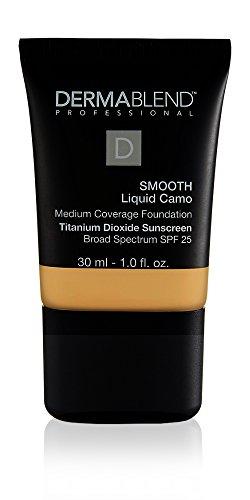 Dermablend Smooth Liquid Foundation with SPF 25, 35W Chai, 1 Fl. Oz.