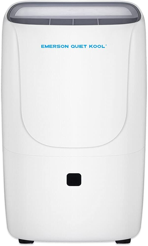 Emerson Quiet Kool 50 Pint Collec with Front-Access Dehumidifier Max 79% OFF Oklahoma City Mall