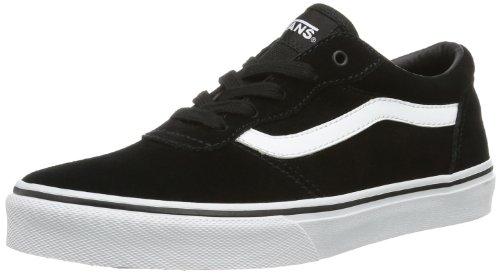 Vans Y Milton Suede - Zapatillas bajas infantil, Black/White, 29 EU / 11.5 UK