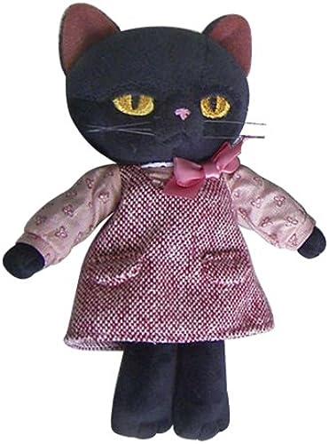 Minou Plush Doll (S) NEW Rosa dress (japan import)