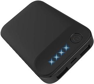 モバイルバッテリー Rongyi 【PSE認証済/軽量】10000mAh 大容量モバイルバッテリー 2台同時充電 LED残量表示 スマホ急速充電器iPhone&Android対応 USB-C入力ポート搭載/コンパクトサイズ