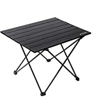 Bylring Portable Ultralight Aluminum Camping Folding Table