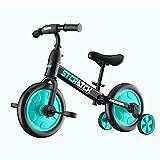 Dingyue Bicicleta 4 en 1 con pedales desmontables para niños de 2 a 6 años, juguete de montar en bicicleta, regalo de cumpleaños para niño