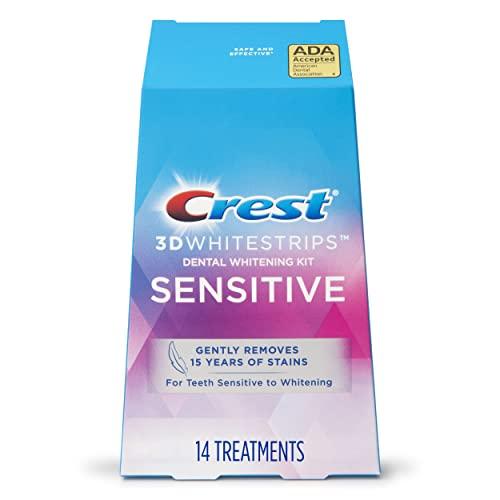 Crest 3D Whitestrips Sensitive Teeth Whitening Kit, 14 Treatments