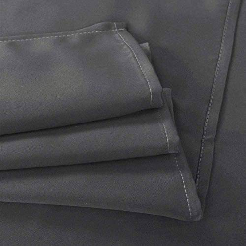 MY1MEY Blackout Curtains, Curtains for Bedroom, Solid Eyelet Curtain Light Reducing Privacy Protection Window Drape Thermal Insulated Blackout Curtain, Various Sizes(Color:F,Size:132x243cm/52x96in)
