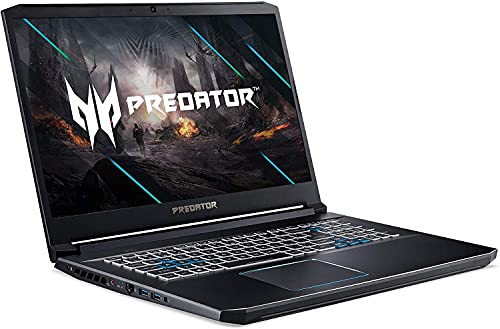 Acer Predator Helios 17.3' Full HD Gaming Laptop | Intel Six-Core i7-10750H | 16GB RAM | 512GBSSD+2TBHDD | NVIDIA GeForce RTX 2060 | Backlit Keyboard | Windows 10 | With Woov Wired Gaming Mouse Bundle