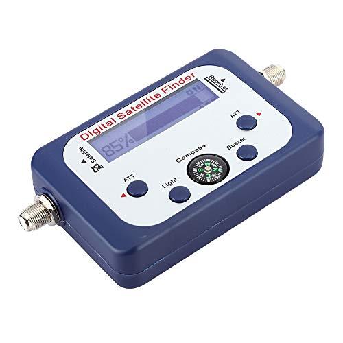 Buscador De Señal De Satélite Medidor De Señal De Buscador De Satélite Digital 950-2150MHz Medidor De Señal De Satélite Con Pantalla LCD
