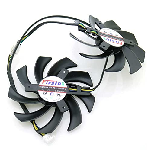 A Set 86mm 39x39x39mm VFA Cooler Repalcement For XFX R9 380 280X 270X 290X Graphics Card Cooling Fan 4Pin
