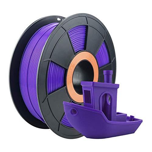 ZIRO PLA Filament 1.75mm,3D Printer Filament PLA PRO Basic Color Series 1.75MM 1KG(2.2lbs), Dimensional Accuracy +/- 0.03mm, Purple