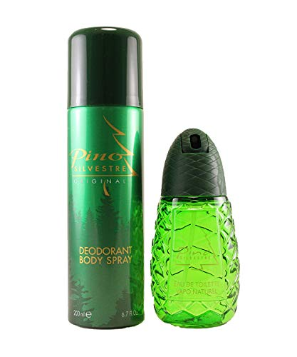 Pino Silvestre Original - Caja regalo para hombre, perfume 125 ml + desodorante en spray 200 ml