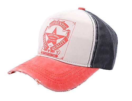 Morefaz Snap back Trucker - Gorra de béisbol unisex de algodón, gorra deportiva, con estrella
