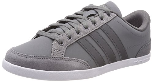 adidas Caflaire, Chaussures de Tennis Homme, Gris (Grethr/Grefou/Crywht Grethr/Grefou/Crywht), 39 1/3 EU