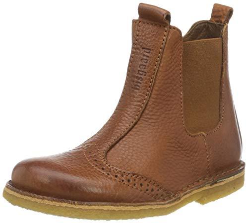 Bisgaard Unisex-Kinder 50203218 Chelsea Boots, Braun (508 Cognac), 27 EU