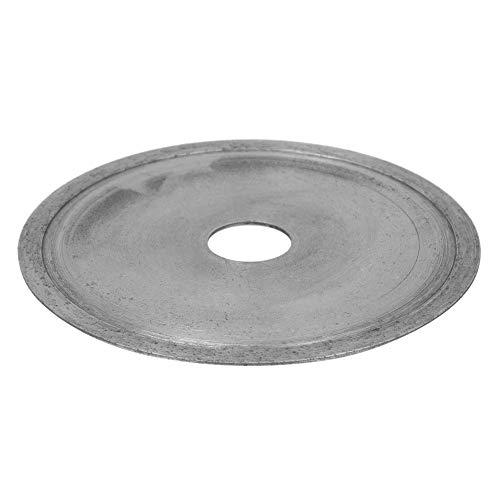 Hoja de corte de diamante, amoladora angular de diamante resistente al desgaste Conveniente Durable para jadeíta para gema para cristal para ágata(Toothless piece 110 * 16 * 1.0)