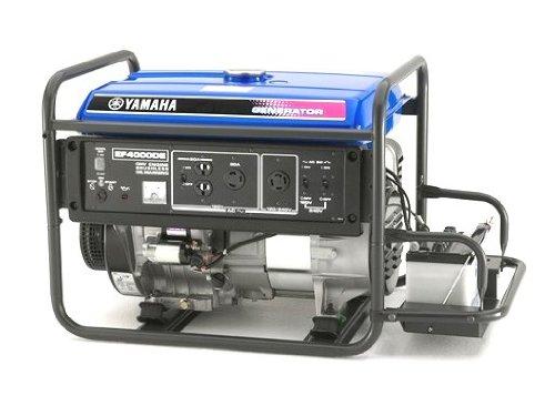 Yamaha EF4000DE, 3500 Running Watts/4000 Starting Watts, Gas Powered Portable Generator