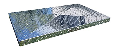 Backyard Life Gear Griddle Cover for Camp Chef Flat Top Griddle FTG600 (Diamond Plate Aluminum)