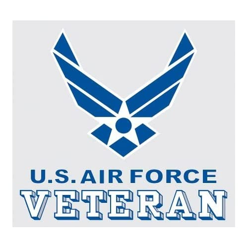 3a11e058fdb United States Air Force Veteran Logo Car Decal US Military Gifts USAF  Products