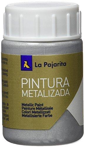 La Pajarita ME-1 - Pintura Metalizada Pajarita 35ml Plata