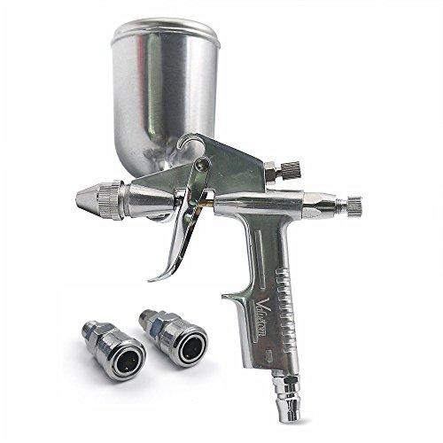 Valuetom Luft Farbspritzpistole Lackierpistole Professionelles Malwerkzeug 0,5 mm Düse Sprühpistole für Wand und Auto