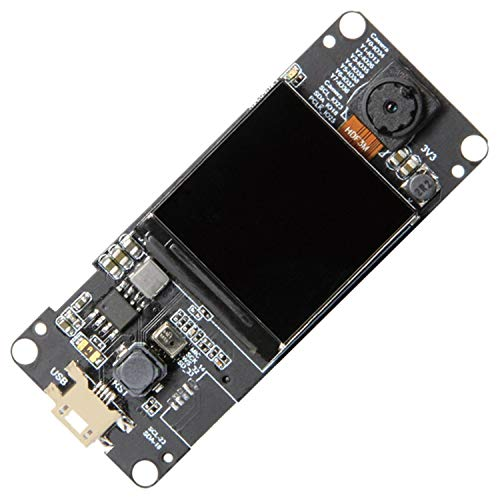 Amazon.com - T-Camera Plus ESP32-DOWDQ6 8MB SPRAM Camera Module OV2640 1.3 Inch Display