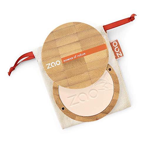 Zao - Bambus Mineral Powder - Kompaktpuder - Nr. 301 / Ivory - 9 g