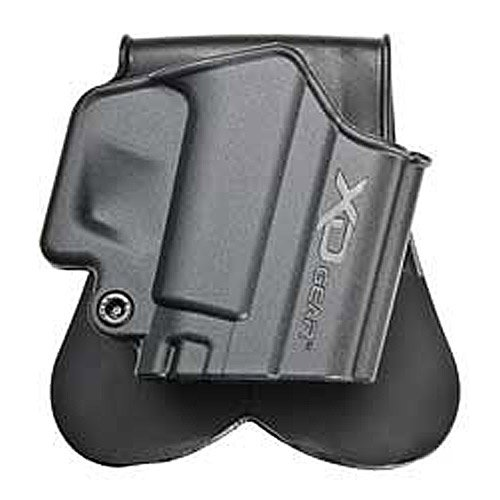 Springfield XD Gear, One Piece Paddle Holster, Right Hand, Black