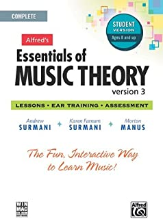 Alfred's Essentials of Music Theory Software, Version 3.0: Complete Student Version, Software