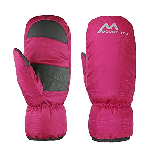 MOUNT TEC Pink Heated Gloves for Women on Outdoor