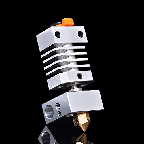 IU3D Upgrade CR10 Hotend All Metal Precision Hotend for Ender 3 Ender 5 /Pro CR-10 CR10S, S4, S5. (Brass Nozzle Kit)