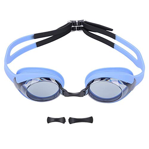 AMONIDA Professional Adjustable Anti Fog Glasses Waterproof Swimming Goggles for Children Kids,Swimming Goggles,Goggles UV Protection,Streamlined Design Swim Goggles(Black)