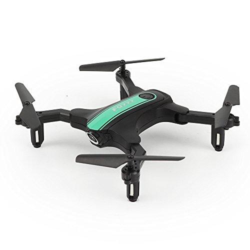 Lily FQ31 Drohne Falten Ultra-Lange Lebensdauer Flugzeug Fernbedienung Flugzeug Spielzeug, Grün,standardversion