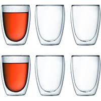 6-Pack Bodum Pavina Double Wall Insulated Glasses