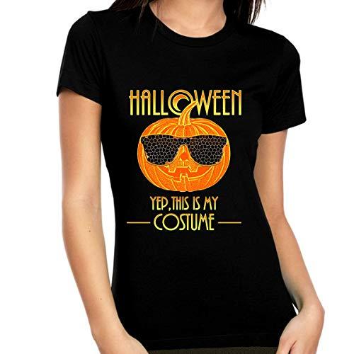Fire Fit Designs - Camisas de Halloween para mujer - Disfraces de Halloween para mujer - 2020 Ropa de Halloween para mujer