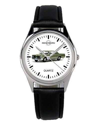 Geschenk für Pontiac GTO Grün Oldtimer Fans Fahrer Kiesenberg Uhr B-1914