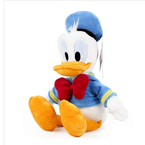 zhangmeiren Pato Donald Juguetes De Peluche De Felpa Animales Cojines De Almohada De Algodón Suave Abrazan Decoración (Color : B)