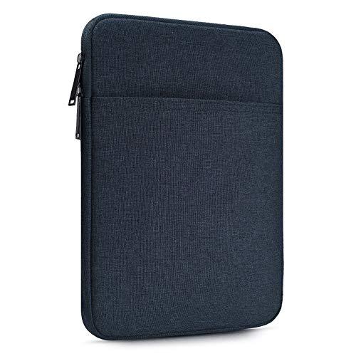10 Inch Water Resistant Tablet Sleeve Case for Samsung Galaxy Tab S5e S6 10.5/Galaxy Tab A 10.1, Smart Tab 10 M10 P10 10.1, iPad Pro 11 10.2 9.7/iPad Air 3 10.5, Fit Apple Smart Keyboard
