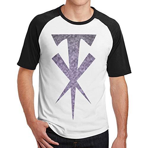 The-Undertaker Camiseta de Manga Corta para Hombre Camiseta Deportiva Camisetas raglán