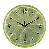 Haiyemao Álbum Infantil Silencioso Moderno Elegante Fruta Creativa decoración del hogar Reloj Digital Álbum de Fotos Adecuado para Bodas, Especial para (Color : C)