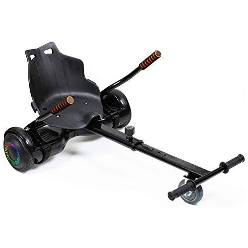blackpoolal Hoverboard Go Kart - Asiento ajustable para patinete eléctrico, convierte tu...