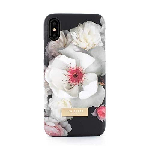 Ted Baker KAMALA Fashion Soft-Feel Shell Compatibel voor iPhone X/XS, Premium beschermende portemonnee voor professionele vrouwen – Chelsea (zwart)