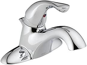 Delta Faucet 520-HGM-DST Delta Faucet Classic, Single Handle Bathroom Faucet, Chrome